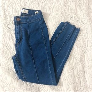 High Waisted Blue Cotton On Jeans